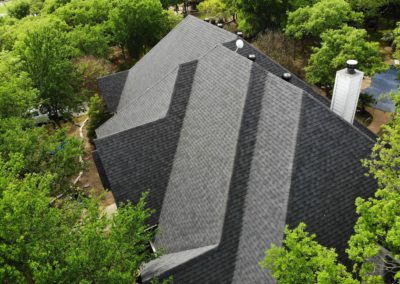 Certainteed Landmark Impact-Resistant Moire Black
