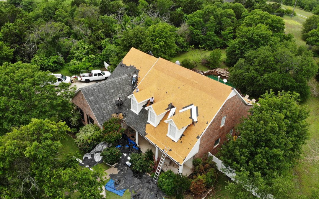 Weatherford residential roofing contractor leads by example
