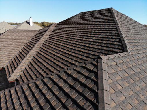 Tilcor CF Shingle in Barkwood