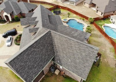 IKO Dynasty shingle in Driftshake color