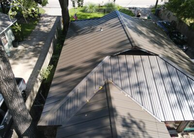 Lake House Metal Roofing