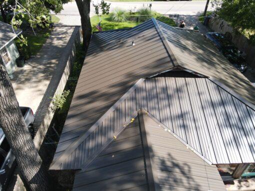 Lake House Metal Roofing